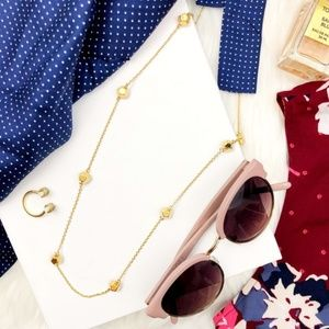 Rebecca Minkoff Gold Scattered Geo Ball Necklace